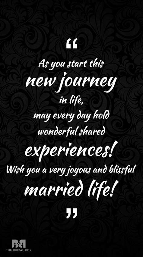 New Life After Marriage Quotes