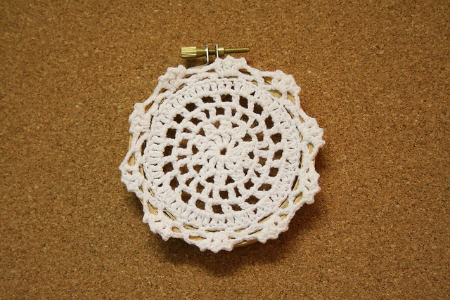 Doily Hoop Art | Flickr - Photo Sharing!