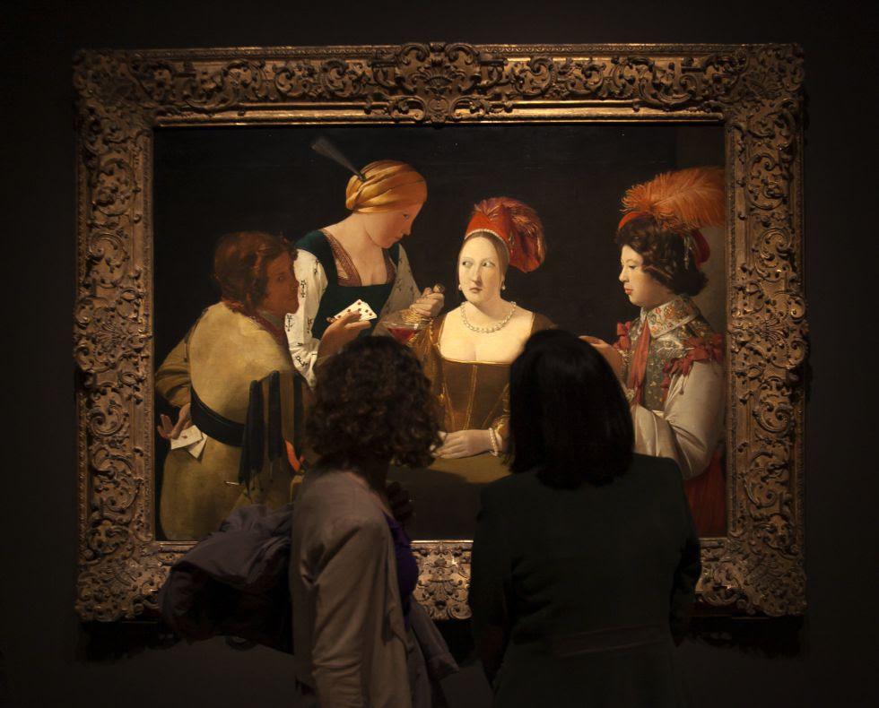 Exposición Georges de la Tour, en el museo del Prado.