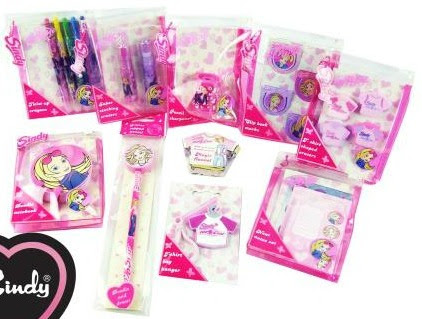 Sindy Pink Stationery Bundle