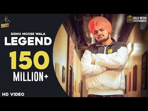 Legend song Lyrics in punjabi & Hindi – Sidhu Moose Wala
