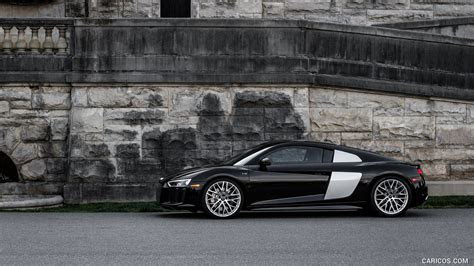 2017 Audi R8 V10 (Black, US Spec)   Side   HD Wallpaper #12