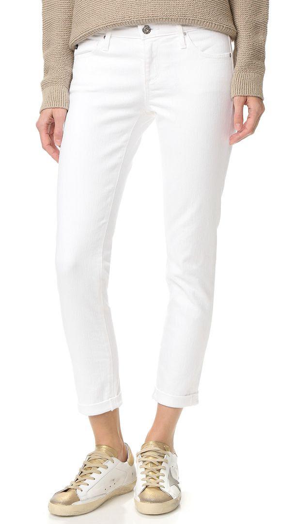 AG Adriano Goldschmied Stilt Cigarette Cropped Jeans