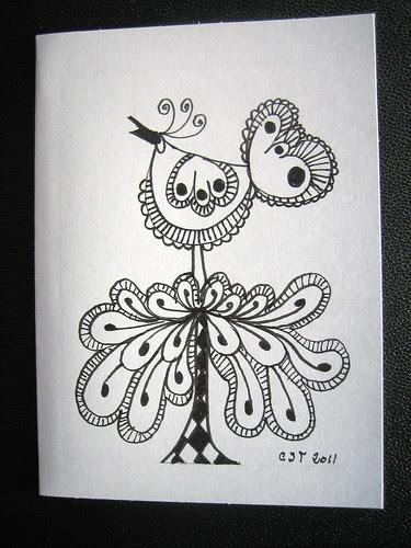 Birdy Card