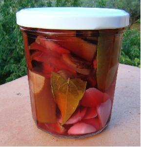 La cachina aubergines en conserves au vinaigre for Aubergines en conserve maison