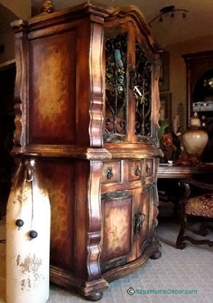 Spanish hacienda style decor house furniture for Wine country decorating style