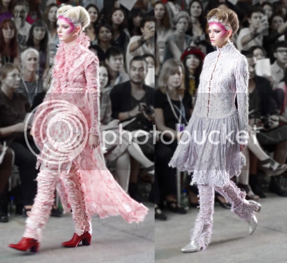 Lucas Leclere (Fashion Womenswear) CSM BA Press Show