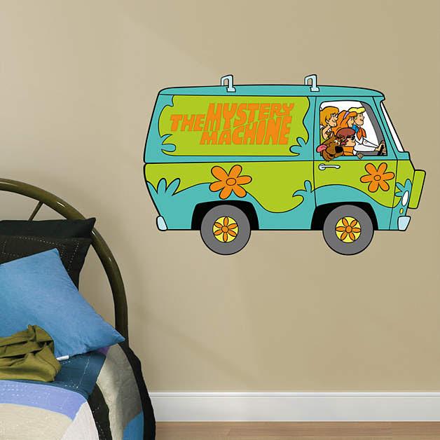 Scooby-Doo Mystery Machine - Fathead Jr Fathead Wall Decal