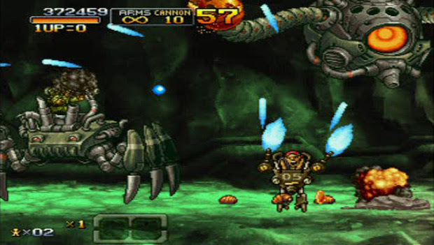 On XBLA this week: Aqua and Metal Slug XX screenshot