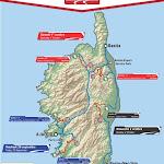 Le découpage du 59e Tour de Corse automobile