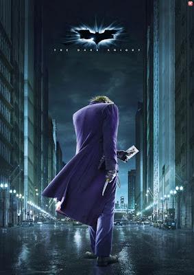 The Dark Knight - The Joker teaser movie poster