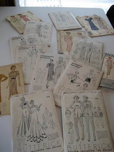 my '30s pattern collection