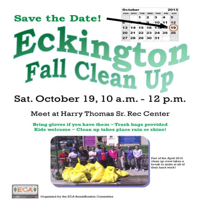 Eckington Clean Up