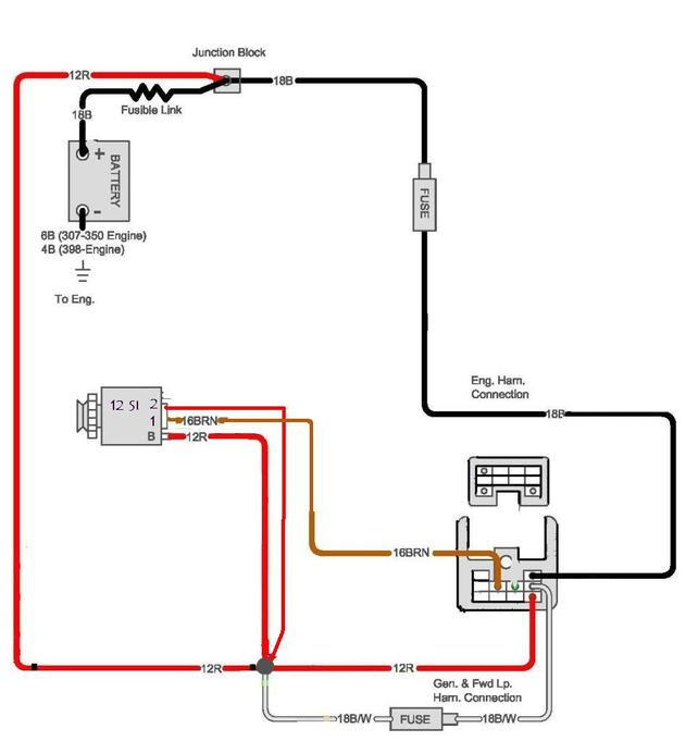 87 C10 Alternator Wiring Diagram