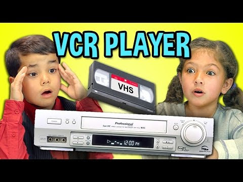 kids react to vhs