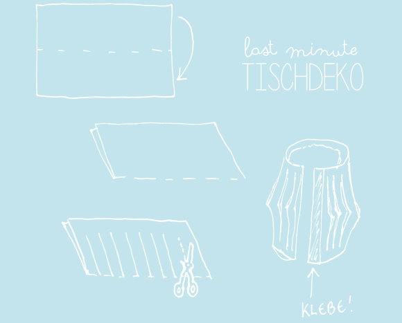 Anleitung DIY Tischlaterne
