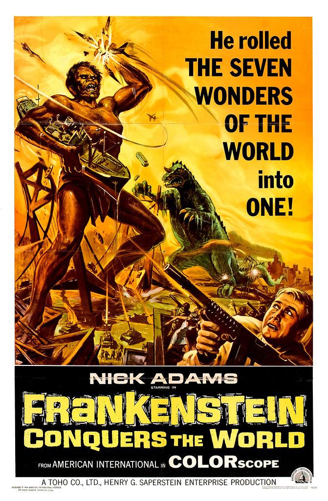 Reynold Brown - Frankenstein Conquers the World (American International, 1966)
