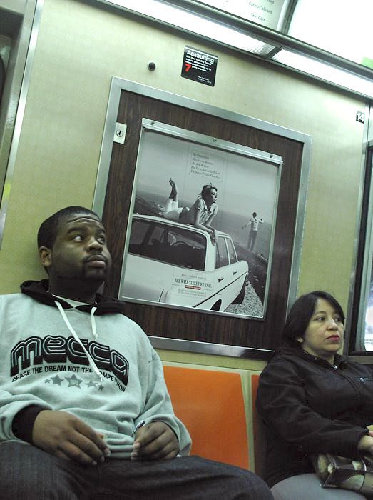 people on the PATH train, New Jersey, New York, NY