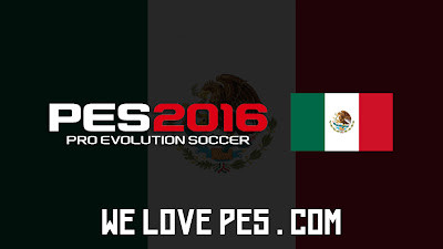 Mexico   Real Names   Players   PES 2016