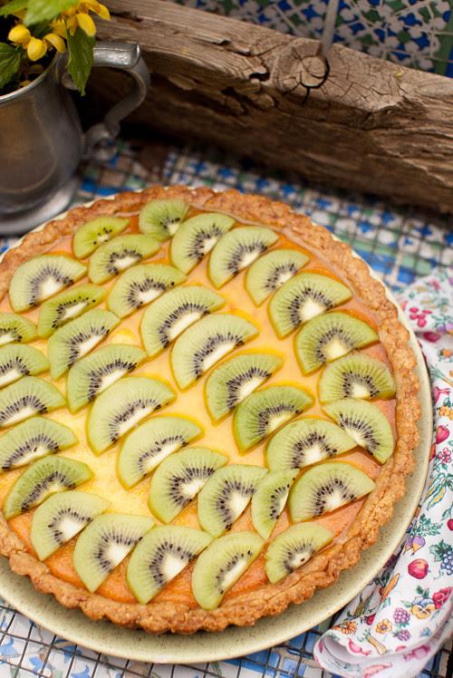 Kiwi Ricotta Tart 2