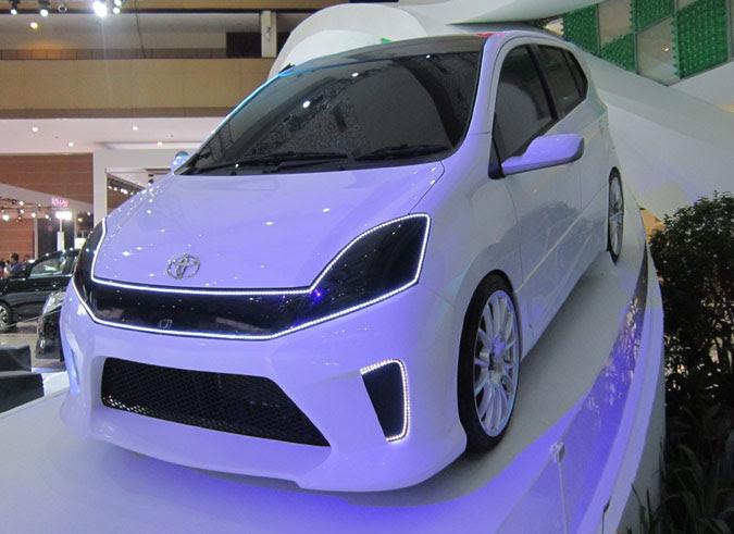 Gambar Modifikasi Mobil Agya Terbaru Trd Bagian Eksterior ...