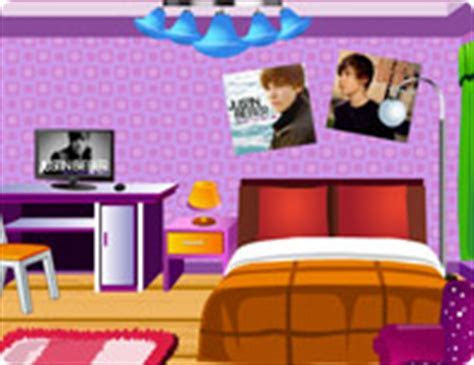 Justin Bieber Fan Room Decoration   Girl Games