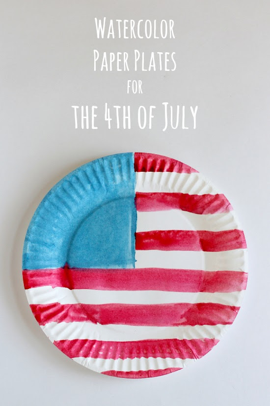 Watercolor Flags For The 4th Of July Make And Takes