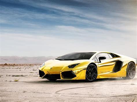 Gold Lamborghini Aventador Lp700 HD desktop wallpaper
