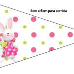 Bandeirinha Páscoa para Meninas: