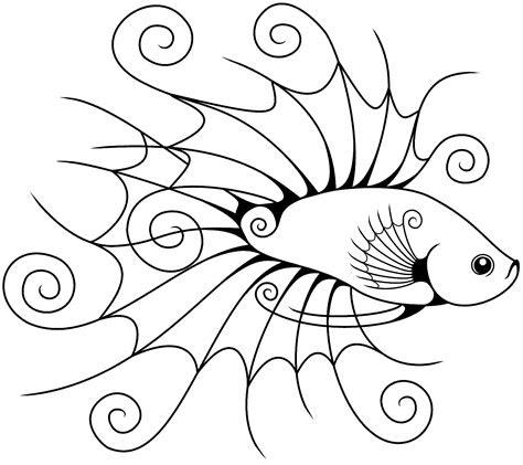 51 Gambar Ikan Cupang Kartun HD