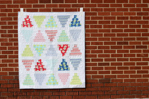 Pyramid Dance Quilt by Jeni Baker