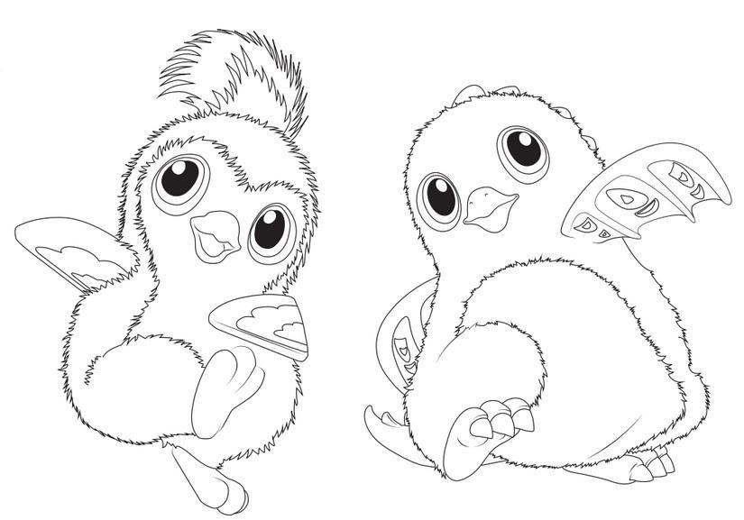 770 Hatchimals Coloring Pages Pdf  Images