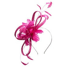 Flower Fascinator - Beetroot Purple