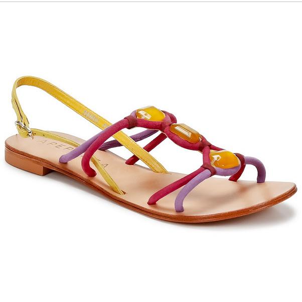Apepaza Multi Coloured Bright Sandals