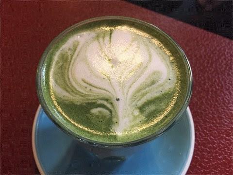 宇治鮮奶抹茶 - 旺角的串燒咖啡