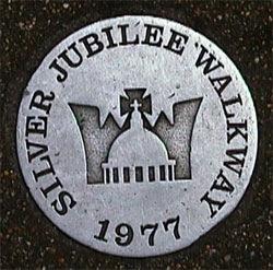Silver Jubilee plaque