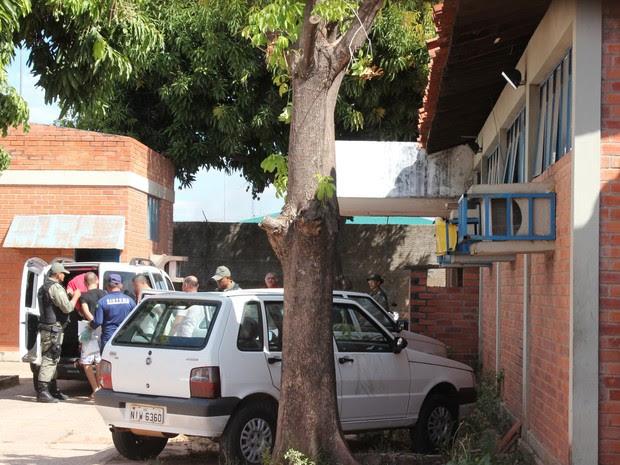 Três adolescentes são acusados da morte de Gleison Vieira (Foto: Catarina Costa/G1)