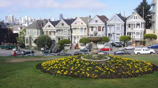 Photos of Painted Ladies, San Francisco