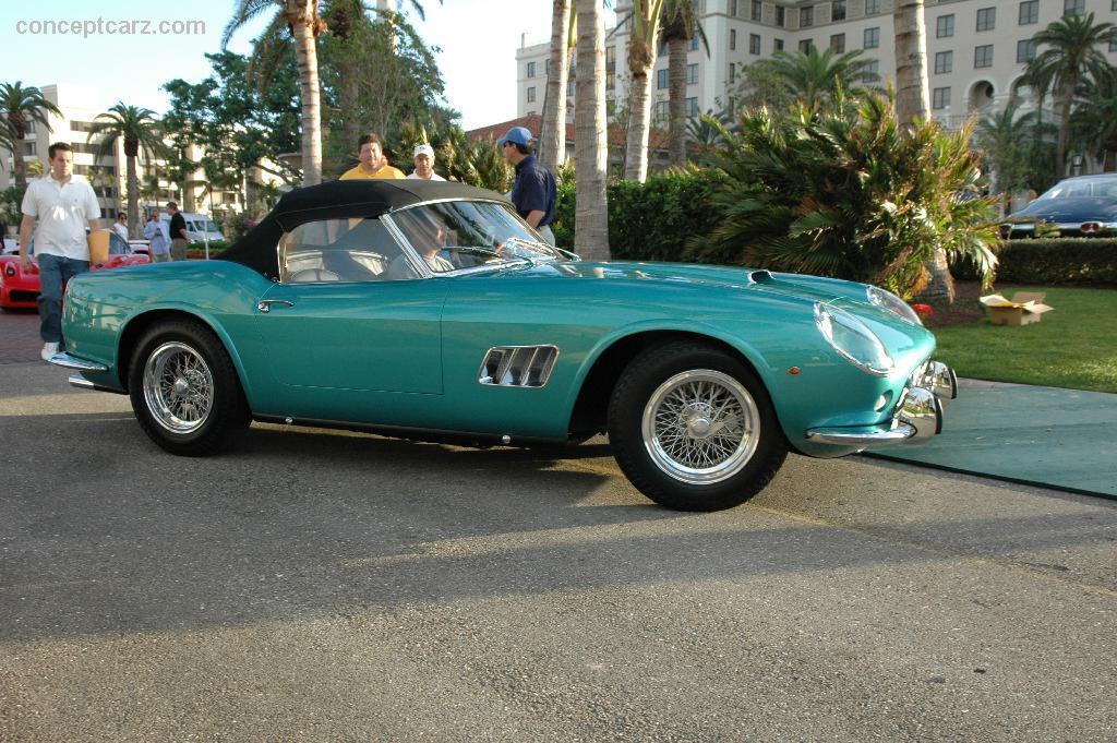 1961 Ferrari 250 GT California - conceptcarz.com