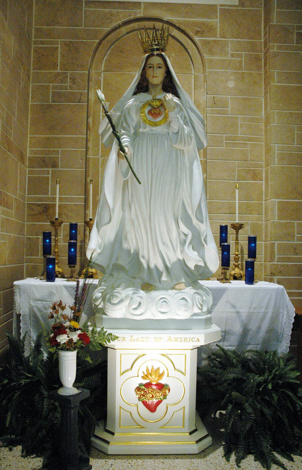 Image result for our lady of america