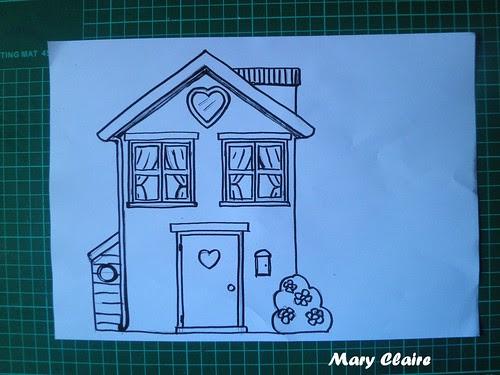 disegno casa