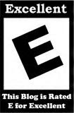 E is for Excellent Award