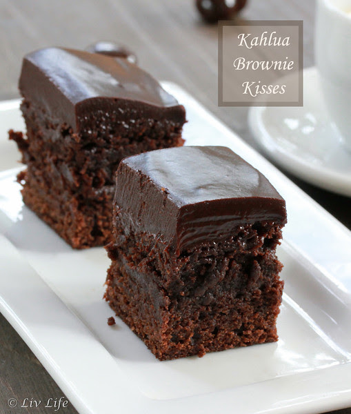Kahlua Brownie Kisses