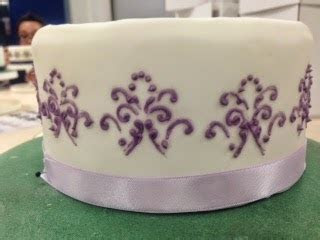 Caroline Makes .: Purple Lilac Flowers Three Tier