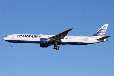 Transaero Airlines Boeing 777-312 EI-UNP (msn 28516)  LHR (Keith Burton). Image: 921969.