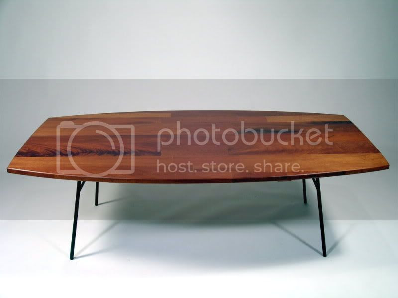 upcycled wood table