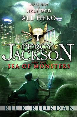 The Sea of Monsters (Percy Jackson and the Olympians, #2)