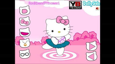 Hello Kitty Online Games Hello Kitty Dancing Dressing