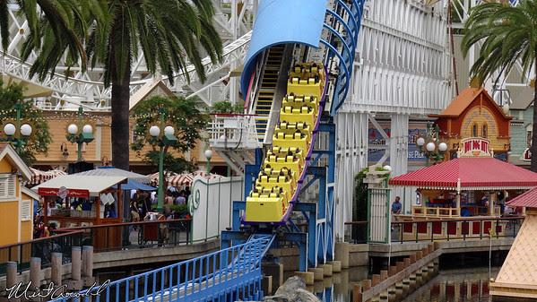 Disneyland Resort, Disney California Adventure, Paradise Pier, California Screamin, Limited, Time, Magic