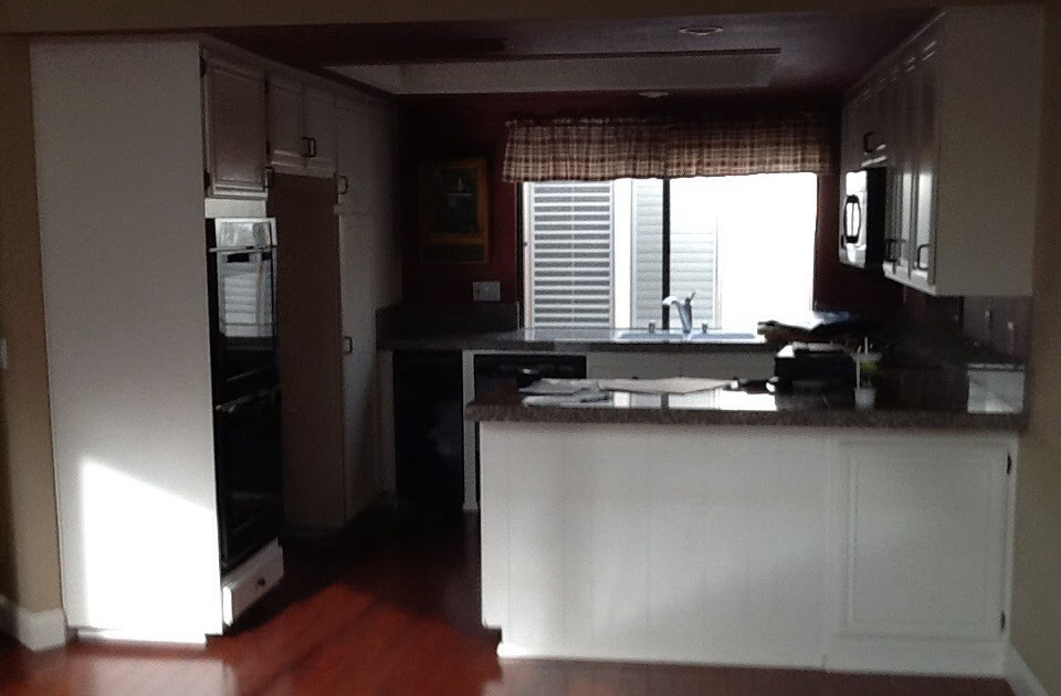 Irvine White Transitional L Shaped Kitchen And Bathroom Remodel With Custom Cabinets Aplus Interior Design Remodeling